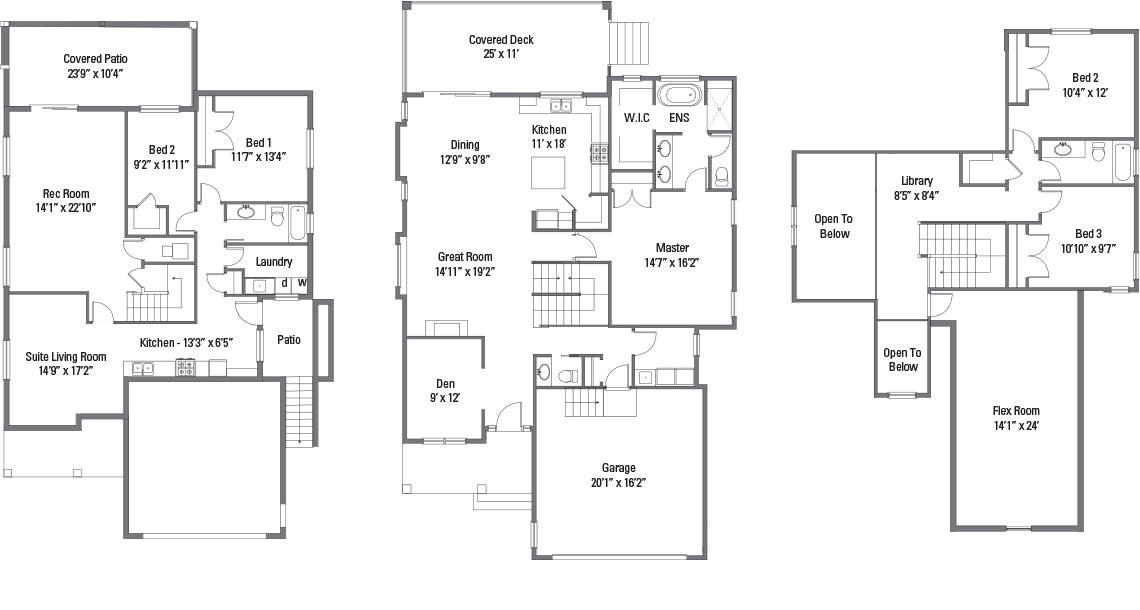 The Winston Floorplans