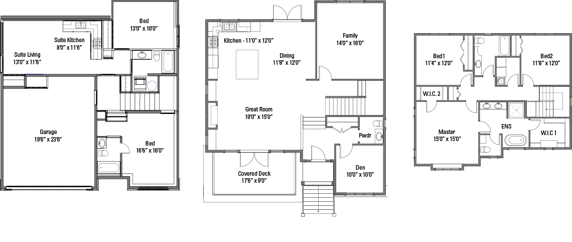 The Richard Floorplans